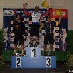 Podium Coupe de France Elite de Cerny