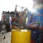 Coupe du Monde Anvers: La demi finale 20 pouces en images