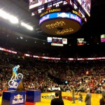 NBA Halftime bike show by Kenny Belaey at the PDX Trailblazers game