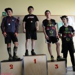 Coupe de Belgique Gilly podium minimes