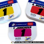 UCI TRIAL WORLD CUP 2014 Crakovie Pologne plaque mustieles hermance janickova