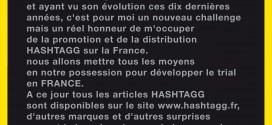 Communiqué Hashtagg France