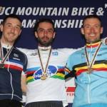 Gilles Coustellier champion du monde devant Fontenoy et Belaey