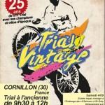 Rassemblement amical Old School Velo & VTT Trial à Cornillon le 3 et 4 octobre
