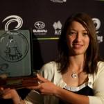 Janine Jungfels élue cycliste de l'année Australienne en VTT Elite