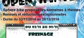 Spherebike: Open Winter, les offres à Thémes