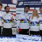 Ranking UCI al finalizar la temporada 2014: Janickova, Mustieles y Hermance números 1