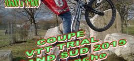 (Français) Coupe de Vtt Trial du Grand Sud 2015, le 22 mars à Montauban