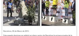 Los pilotos de la CCTA sorprenden en Barcelona