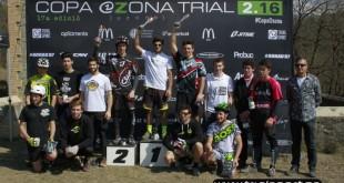 copa osona trial 2016 podium elite trialsport