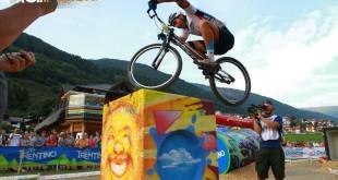 Championnat du Monde UCI Trials Val di Sole 2016 finale26 pouces 429 trial inside